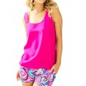 Lilly Pulitzer Hot Pink Tank Top
